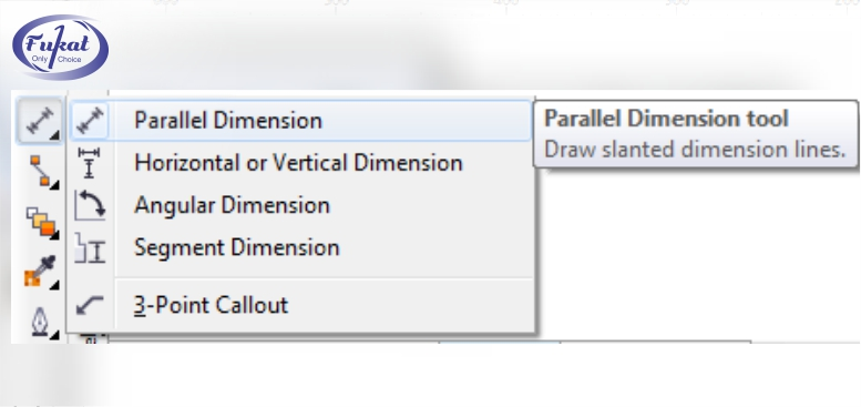 Parallel Dimension Tool In Corel DRAW - Fukatsoft Blog
