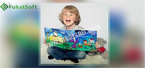 A Happy Boy And His Magical Book