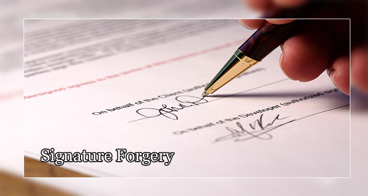 Signature Forgery