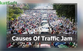 Causes of Traffic jam