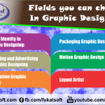 Fields you can choose In Graphic Designing