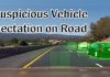 Suspicious Vehicle detection on road