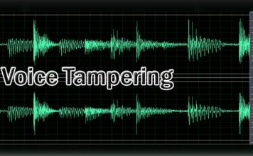 Voice tampering