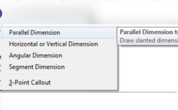 Parallel Dimension Tool In Coreldraw featured image