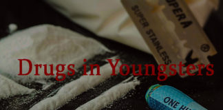Usage of drugs in youngsters