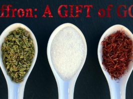 Saffron: A gift of God