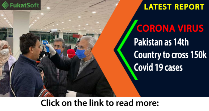cases of COVID-19 patients in Pakistan