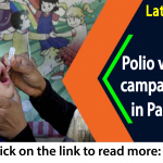 Polio vaccination in Pakistan