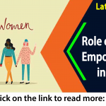 Role of Women empowerment