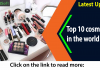 Top 10 cosmetics in the world